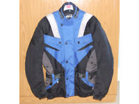 Men's AMX Motorcycle Jacet. Size L.