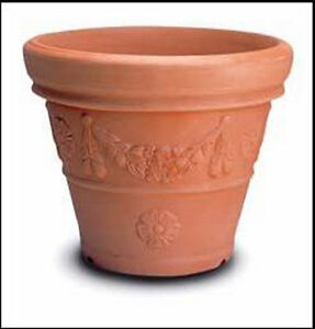 Vaso campana decorata cm 72 in resina vasi da giardino no for Vasi rettangolari plastica