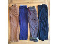 Boys trousers bundle - age 3-4