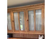 Pine Wall cupboard.