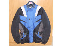Men's AMX Motorcycle Jacket. Size L.