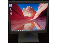 "17"" LCD monitor for PC / Laptop / CCTV SECURITY CAMERA - GOOD CONDITION - DELIVERY"