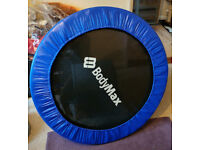 Almost new BODYMAX Mini Trampoline and Stability Bar (still in box)