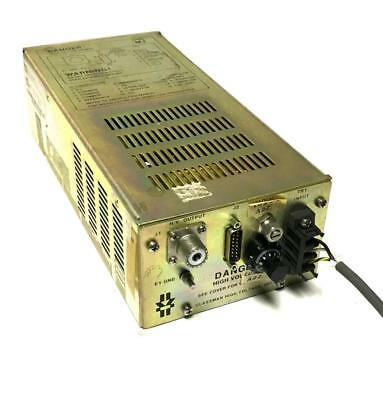 Glassman Psmj10n1500-11 High Voltage Power Supply 0 To -2700 Vdc - Sold As Is