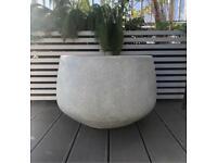 Extra large planter plant pot