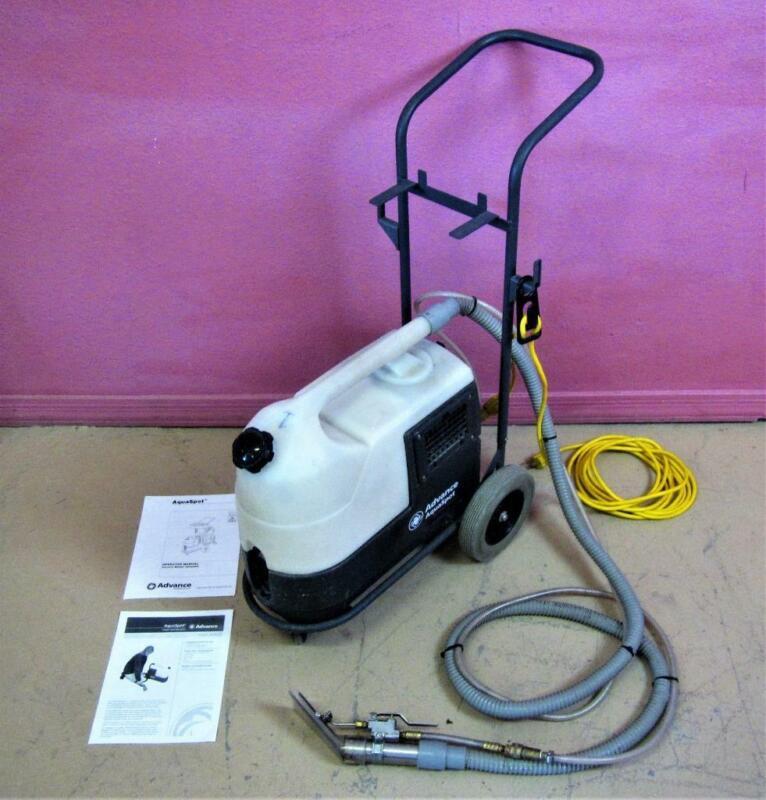 Nilfisk Advance AquaSpot Portable Upholstery Carpet Cleaner Extractor Vacuum