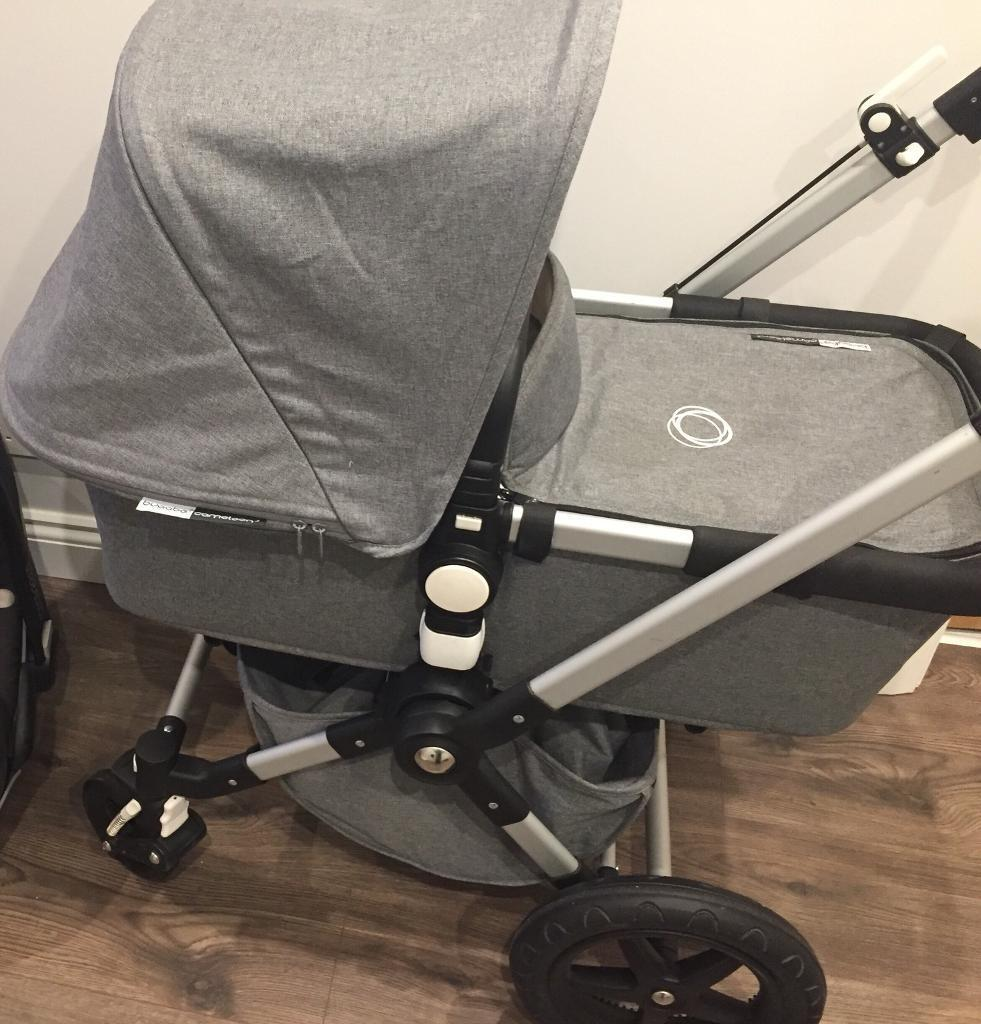 Bugaboo Cameleon 3 Grey Melange Classic Collection Car Seat Immaculate