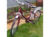 """Electric bike, ladies or gents 26"""" wheels"""