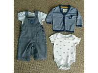 BARGAIN!! Jasper Conran baby boy clothes outfit. 3-6 months