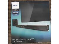 BNIB Philips Soundbar with Sub Woofer