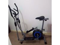 Pro Fitness 2 in 1 Cross Trainer+Excercise Bike New