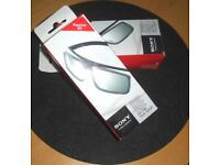 2 Pairs SONY 3D TV Glasses TDG-500P For watching 3D on your telly
