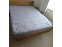 Double mattress.