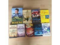 Bundle of Adult Fiction Books x9
