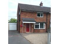 semi detached house with garage and large summerhouse for sale