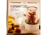 Brand new Kenwood chef/major, glass multi-mill