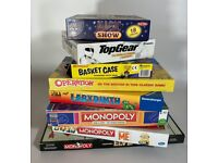 8 x Popular Christmas Board Games and Fun Activities