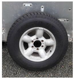 Isuzu Trooper Brand New Tyre & Wheel 16 inch Vauxhall Monterey 245/70 R16 4x4