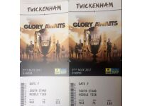 x2 tickets for the Rugby Premiership Final 2017 at Twickenham - South Stand, Middle Tier