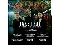 TAKE THAT TICKETS X 2
