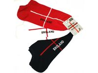 WHOLESALE JOBLOT X126 PAIRS OF ENGLAND ANKLE TRAINER SOCKS