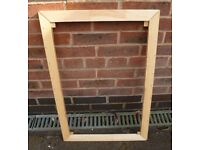 Large Wooden Picture Frame Only