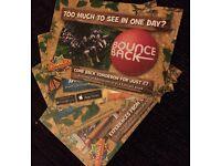 4 chessington world of adventures tickets