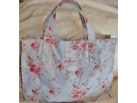 Cath Kidston Large tote overnight shopping bag with PVC coating