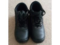 TUFF Safety Boots Steel Toecap size 2