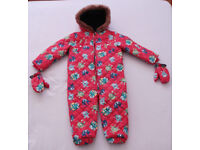 BRAND NEW! Boys Snowsuit / All in One 3-4 years