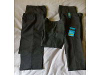 5 pairs of brand new grey school trousers for 5/6 year old