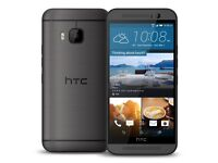 HTC One M9 20MP CAMERA 32GB 4GLTE Smartphone GREY COLOR (UNLOCKED)Mint Condition