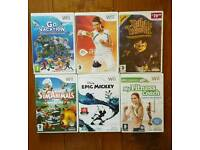 Bubdle of Wii games