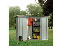 Shed - Galvanised Metal NEW