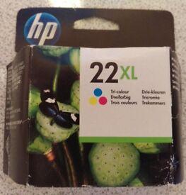 HP 22XL Tri-colour ink