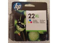HP 22XL Tri-colour ink