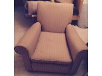 Contemporary solid upholstered chair JOHN LEWIS