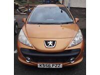 Peugeot 207 Sport 87 (orange)