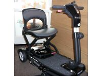 PRIDE QUEST mobility scooter in showroom condition as it has only been used on four occasions.