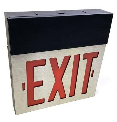 Dual Lite Spectron Excalibur Series I Gmmel-sd5 Emergency Exit Sign Wdirections