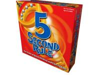 5 second rule board games