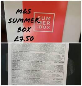 M&S summer beauty box