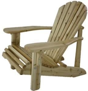 80% off !!! - Canadian cedar Muskoka chairs for your patio, deck, front porch, fire pit, even a unique X mas gift