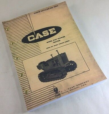 J I Case 310f Crawler Tractor Parts Catalog Manual Sn 3019001-3023000 Dozer