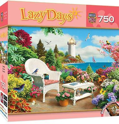 Masterpieces Lazy Days Jigsaw Puzzle Memories Alan Giana 750 Pcs  31694