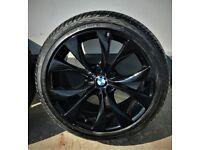 BMW X5 20 Inch ALLOYS BLACK