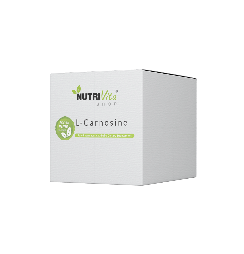 1000g (2.2lbs) 100% Pure L-Carnosine Bulk Powder USP Grade nonGMO