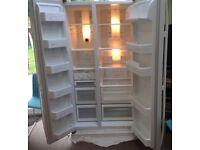 Used Samsung White American Style Refrigerator