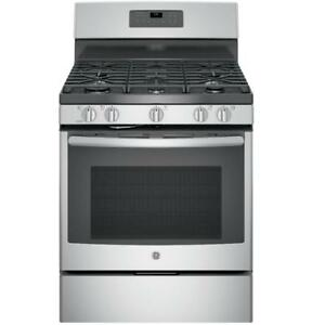 BRAND NEW 5 BURNER STAINLESS STEEL GAS STOVE--WHAT A DEAL!!!