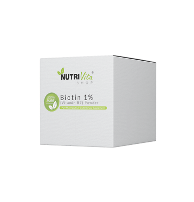 2.2 lb (1000g) NEW 100% PURE BIOTIN 1% (VITAMIN B7) POWDER USP